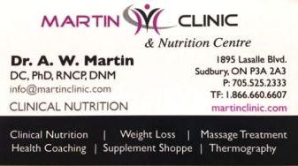 Dr Martin Card